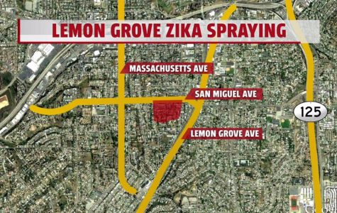 Zika Spraying In El Cajon