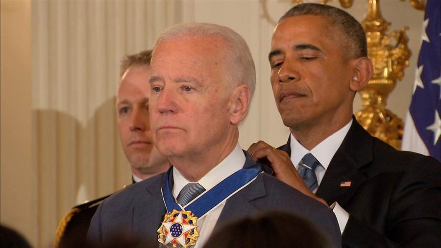 Biden Receives the Presidential Medal of Freedom