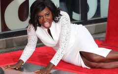 Viola Davis Earns Her Gold Star