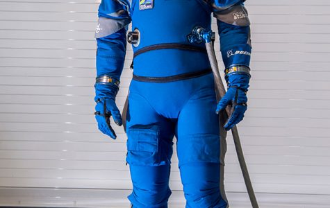 NASA's New Spacesuit: Boys in Blue in Space