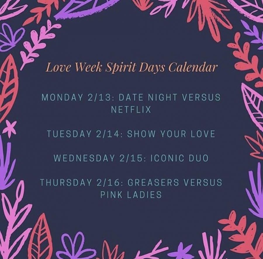 Valentine's Spirit Week at Helix