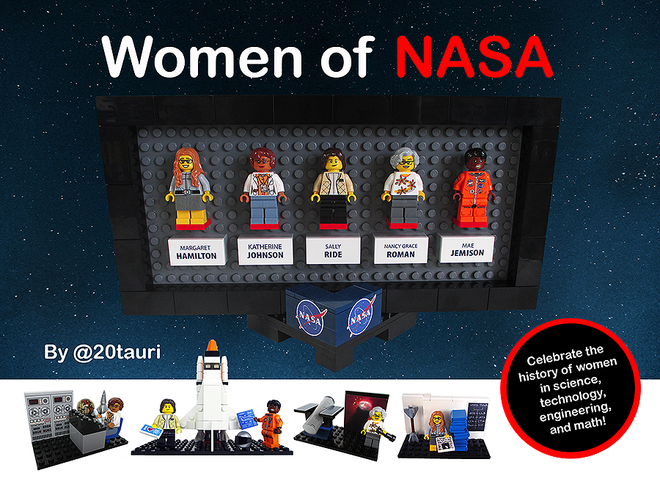 NASA+Women+Lego+Set