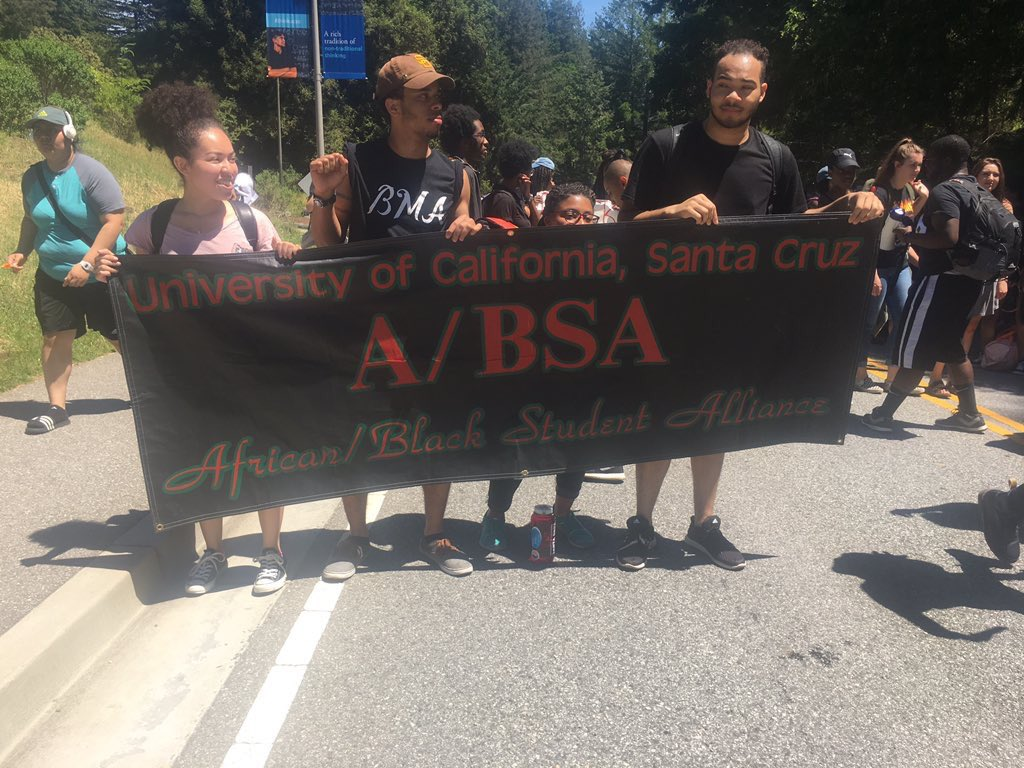 Protests At UC Santa Cruz