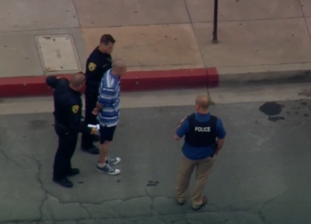 Alleged Armed Man Puts Helix on Lockdown