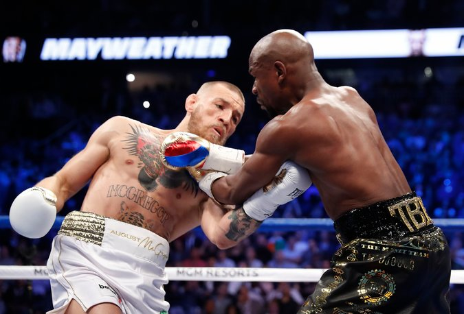 Mayweather VS. McGregor: Fight of the Year