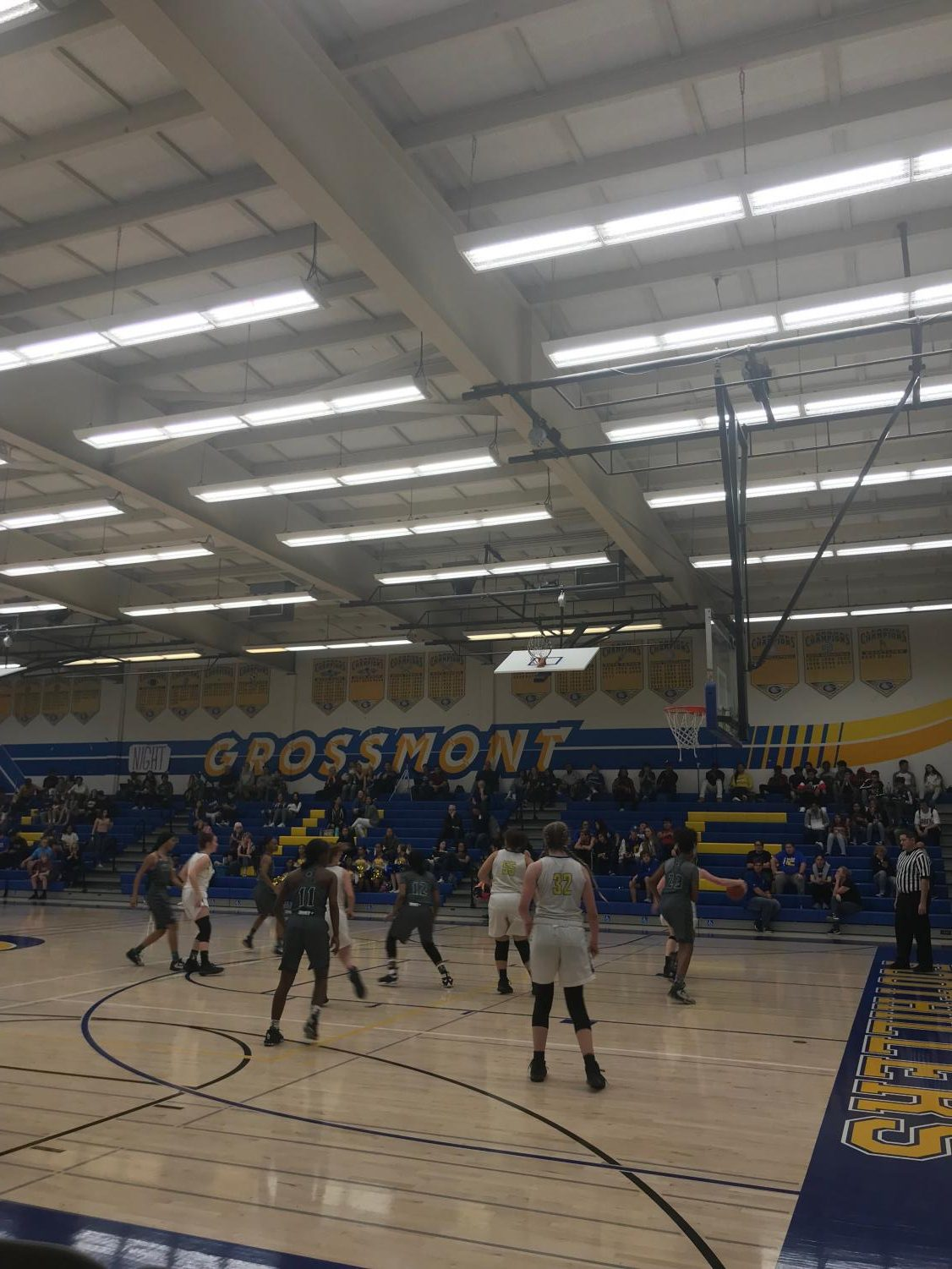 A picture of the game at Grossmont