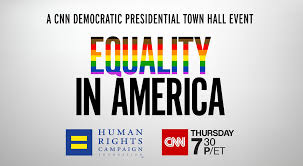 Nine democratic candidates meet to discuss LGBT+ issues in America at CNN's LGBTQ Town Hall