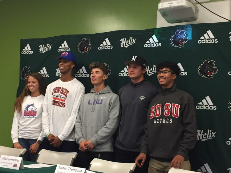 Helix+student-athletes+look+forward+to+the+next+jersey+on+National+Letter+of+Intent+Signing+Day