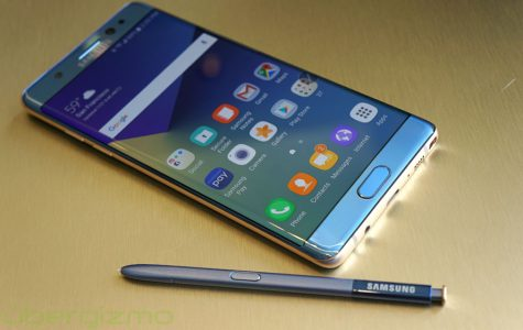 Samsung Galaxy Note 7 Catches Fire