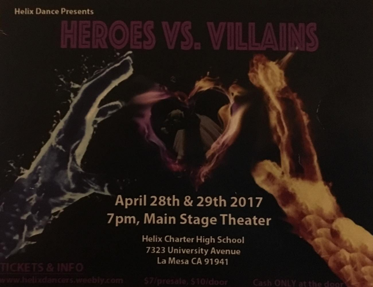 Heroes vs. Villains Dance Show