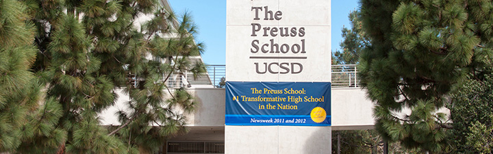 The Preuss School ranked #1 in San Diego
