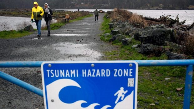 Alaskan Earthquake Turned Tsunami Warning