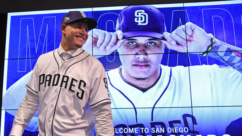 Feb+22%2C+2019%3B+Peoria%2C+AZ%2C+USA%3B+The+San+Diego+Padres+officially+introduced+all-star+free+agent+Manny+Machado+%2813%29+at+a+press+conference+at+the+Peoria+Sports+Complex.+Mandatory+Credit%3A+Jayne+Kamin-Oncea-USA+TODAY+Sports