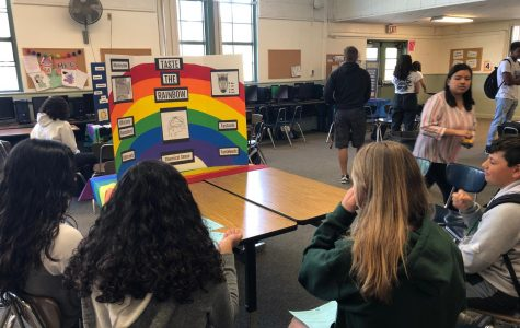 Students Experiment at Psychology Fair 2019