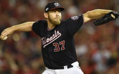 SDSU alumni Stephen Strasburg makes World Series debut